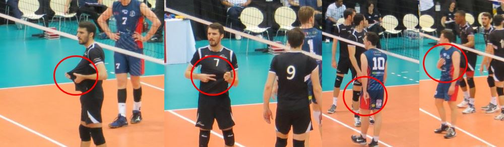 attach hand signals